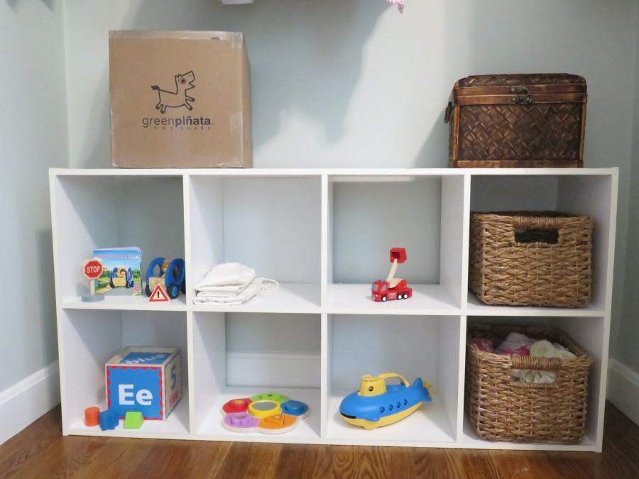 small space toy closet