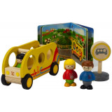 School Bus Buddies Playset