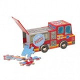 Mini Vehicle Fire Truck Puzzle